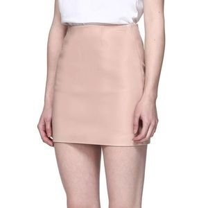 Nwt Mackage alva leather skirt in petal colour